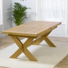 Kentucky Natural Stain Extendable Dining Table (£320) | Home | Pinterest | Extendable  Dining Table