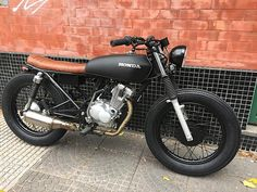 Look at a number of my preferred builds - modified scrambler bikes like this - Luxury Motorcycle! Honda Scrambler, Virago Cafe Racer, Suzuki Cafe Racer, Triumph Cafe Racer, Honda Ruckus, Honda S2000, Cg 125 Cafe Racer, Cafe Racer Headlight, Estilo Cafe Racer