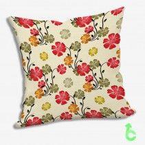 vintage soft floral pattern Pillow Cases