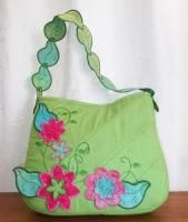 Falling Leaves Purse Embroidery Designs
