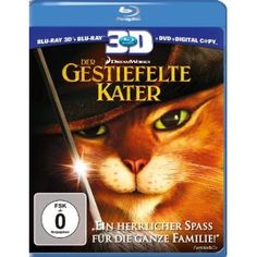 Der Gestiefelte Kater [3D Blu-ray] Top Angebote « 3D Blu-Ray Filme