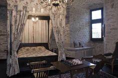 Guest Bedroom on Second Level   Medieval Castle de Montbrun, Dournazac, Haute-Vienne, France