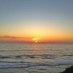 solana beach sunset Photo by @happymundane on instagram