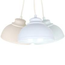 Candy Rose 3 Shade Cluster Ceiling Light Fitting