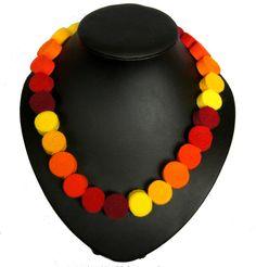 Beads of felt from TinyArt by DaWanda.com