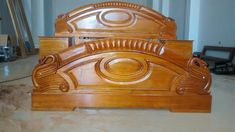 Wooden Sofa Set Designs, Wood Bed Design, Wooden Door Design, Gothic Furniture, Modern Bedroom Furniture, Bed Furniture, Bedroom Closet Design, Home Room Design, Bamboo Room Divider