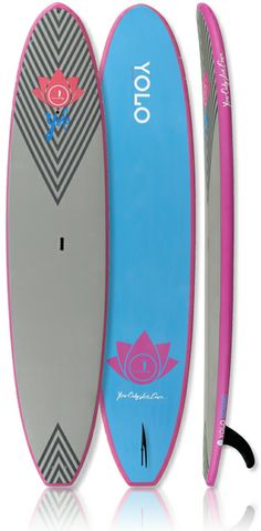 YOLO's Coastal Cruiser and Lotus Paddle - matte finish, soft-top deck surface, super stable just right for any kind of water.  #supboards, #supwomenonthewater #supeverydamnday #samata_magazine #standuppaddlemagazine http://www.yoloboard.com/
