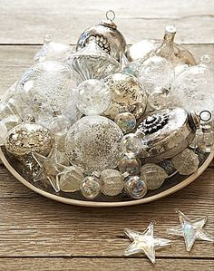Christmas table decorations-my style-