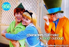 I just really appreciate the Mad Hatter's face in this. :) AND ANDREW AND HALI. <3
