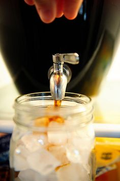 "DIY iced coffee. The good cold brewed stuff, not the crappy ""I just put hot coffee in the fridge"" stuff."