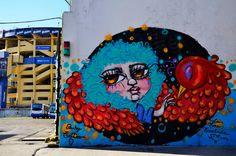 mural RRIOBBA La Boca  Buenos Aires Argentina
