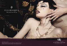 Cleopatra ad for the makeup company Illamasqua for their Theatre of the Nameless, Autumn Winter 2011 Collection 1920s Inspired Makeup, Kiss Makeup, Hair Makeup, My Beauty, Hair Beauty, Beauty Makeup, Beauty Without Cruelty, Unique Makeup, Theatrical Makeup