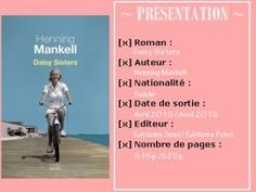 Lecture Commune – Daisy Sisters d'Henning Mankell • Hellocoton.fr