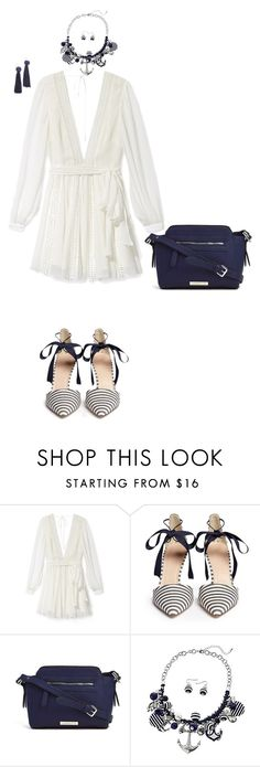 """Untitled #7798"" by erinlindsay83 ❤ liked on Polyvore featuring Rebecca Minkoff, J.Crew, Liz Claiborne and Vanessa Mooney"