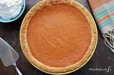 Sweet potato pie rec