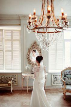 Образ невесты. Кружевное платье   Фотограф: Юлия Шторм