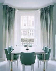 Combinação de cores para deixar sua sala de jantar ainda mais harmonizada.