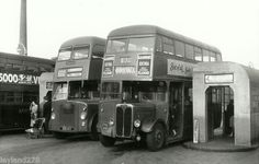 B & W BUS PHOTO - MIDLAND RED FHA242,XHA463 | eBay in leicester st margarets bus station