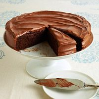 lower fat - old fashion Fudge cake... Mmm but how do BEETS figure into this recipe?  Interesting!