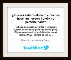 Como fomentar el Uso de Twitter en Empresas Turísticas y en la Hostelería.