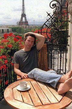 Keanu Reeves in Paris, 2003 reeves reeves lockscreen Keanu Reeves John Wick, Keanu Reeves Young, Keanu Charles Reeves, Keanu Reeves Speed, Elsa Martinelli, Keano Reeves, Michel Polnareff, Larry Wilcox, Beautiful Men