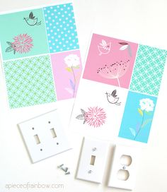 Mostswitch-platesand outlet covers lack personality and flair. Yet it's so easy to turn them into something special with very simple materials- paper and Mod Podge. Today I am going to show you how to decoupageyour outlet covers and give them aneasy and adorable quick makeover. Let me start with an introduction! It is such a …