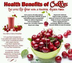 Healthy Cherry benefits <3 #Cherries #EatMoreCherries