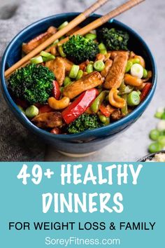 Healthy Dinner Ideas for Weight Loss and Your Family | healthy meal prep | healthy dinner recipes for weight loss | lose weight #healthydinnerrecipes #healthydinner #dinner #healthyfood #healthyrecipes #healthyeating #healthyliving #healthymeals #mealplanning #mealideas #dinnerrecipes #dinnerideas #dinnertime #supper