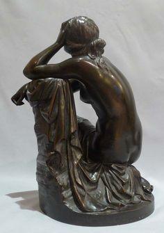 AIMÉ MILLET 1819-1891 . Ariadne