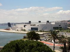 Champalimaud Foundation, Lisboa Portugal  Photo taken from Belém Tower By Patty Tome