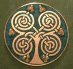 Rowan tree Celtic symbol. | Ancient Symbols | Pinterest