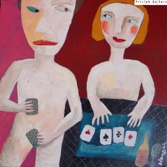 Strip Poker - 30x30 cm