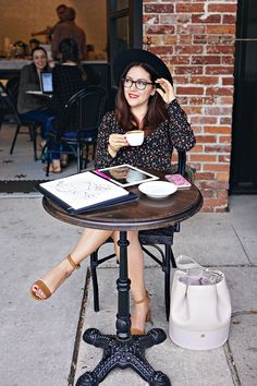 History In High Heels: Get Creative With Wacom Nespresso, Starbucks, Coffee Girl, Saddle Bags, High Heels, Beautiful Women, Photoshoot, In This Moment, Stylish