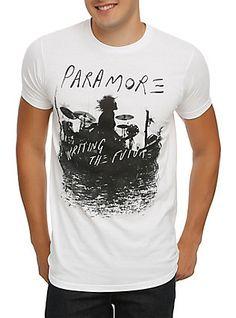 Paramore Writing The Future T-Shirt, WHITE