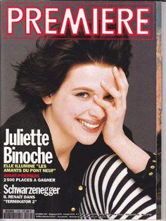 Juliette Binoche - Premiere Magazine Cover [France] (October 1991)