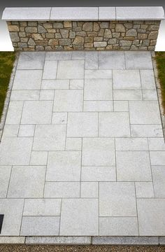 Silver Grey Granite Machine-Cut Flamed Patio Pack A – Stone Merchant
