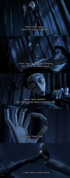 Corpse Bride! I think this has to be my all time favorite movie!