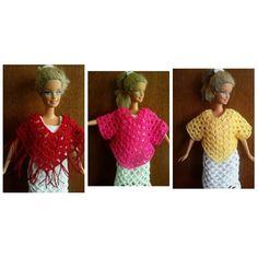 ponchito blusa para barbie