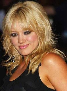 medium hair cuts with bangs | Hairstyles with bangs and layers for medium hair 4