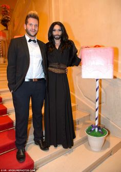 Conchita Wurst with her kindred soul :)