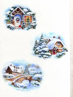 1 million+ Stunning Free Images to Use Anywhere Christmas Decoupage, Vintage Christmas Cards, Xmas Cards, Vintage Cards, Christmas Scenes, Christmas Pictures, Christmas Art, Christmas Ornaments, Illustration Noel