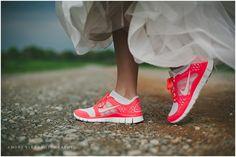 @Nike Women Wedding Shoes | Amore Vita Photography | Mooresville NC