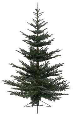 8ft Green Christmas Tree - Nobilis Fir - Artificial Christmas Tree