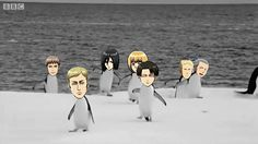 Attack on Antartica. Did someone just get really, really bored and decided to make this?