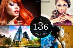 136 Premium Photoshop Actions by Premium Photoshop Add-ons on Creative Market