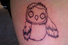 "Zombie Owl from ""Le royaume de ga'hoole"""
