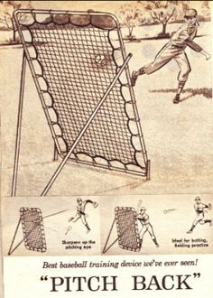 Pitchback Practice For Baseball Players