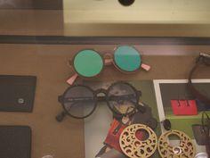 Gli occhiali Doge, il modello Alizé esposto nella boutique Andrea De Lucia a Caserta