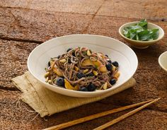 Blueberry Soba Noodle Salad | Blueberry Council