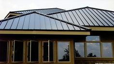 In addition to being environmentally friendly and long lasting, metal roofing can make a building aesthetically appealing as well.